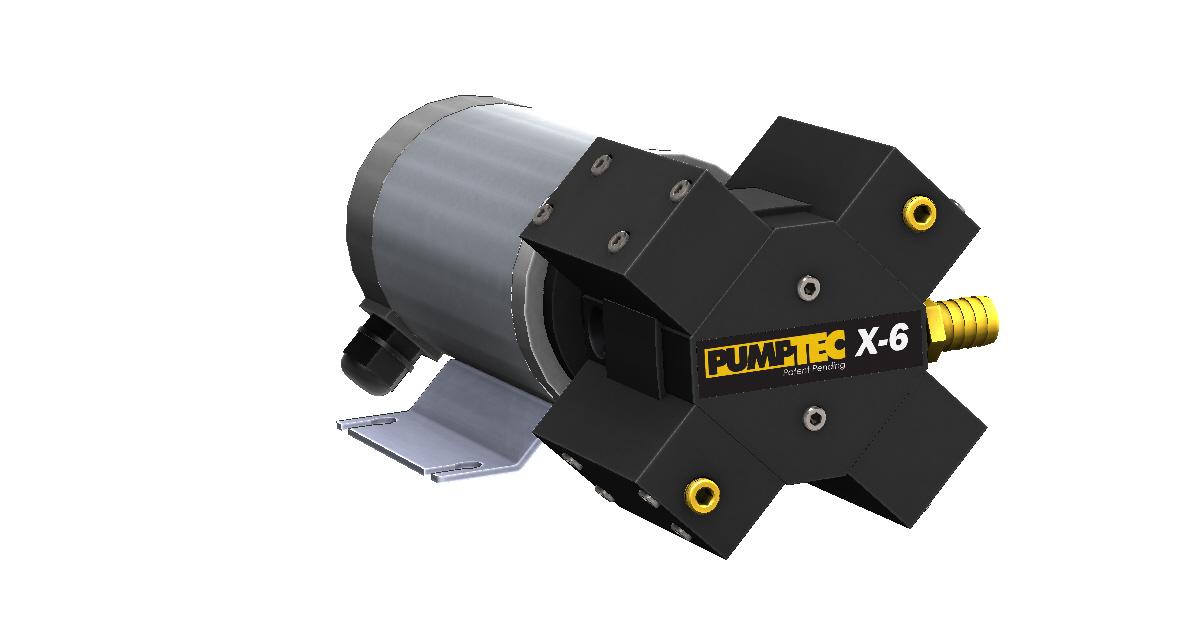 X-6 M950 Render Left