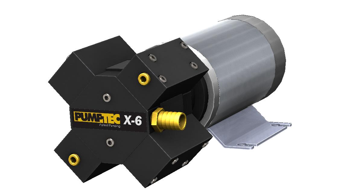 X-6 M950 Render Right